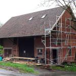 Erneuerung Kaltdach Scheune